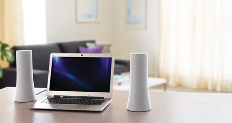speakers met bijzonder design