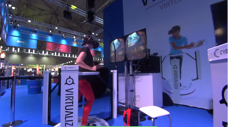 Purdey on virtualizer