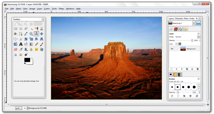 gratis alternatieven voor photoshop