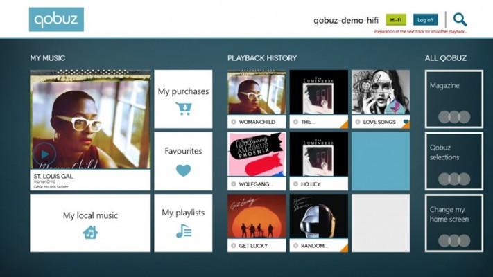 Qobuz Screenshot
