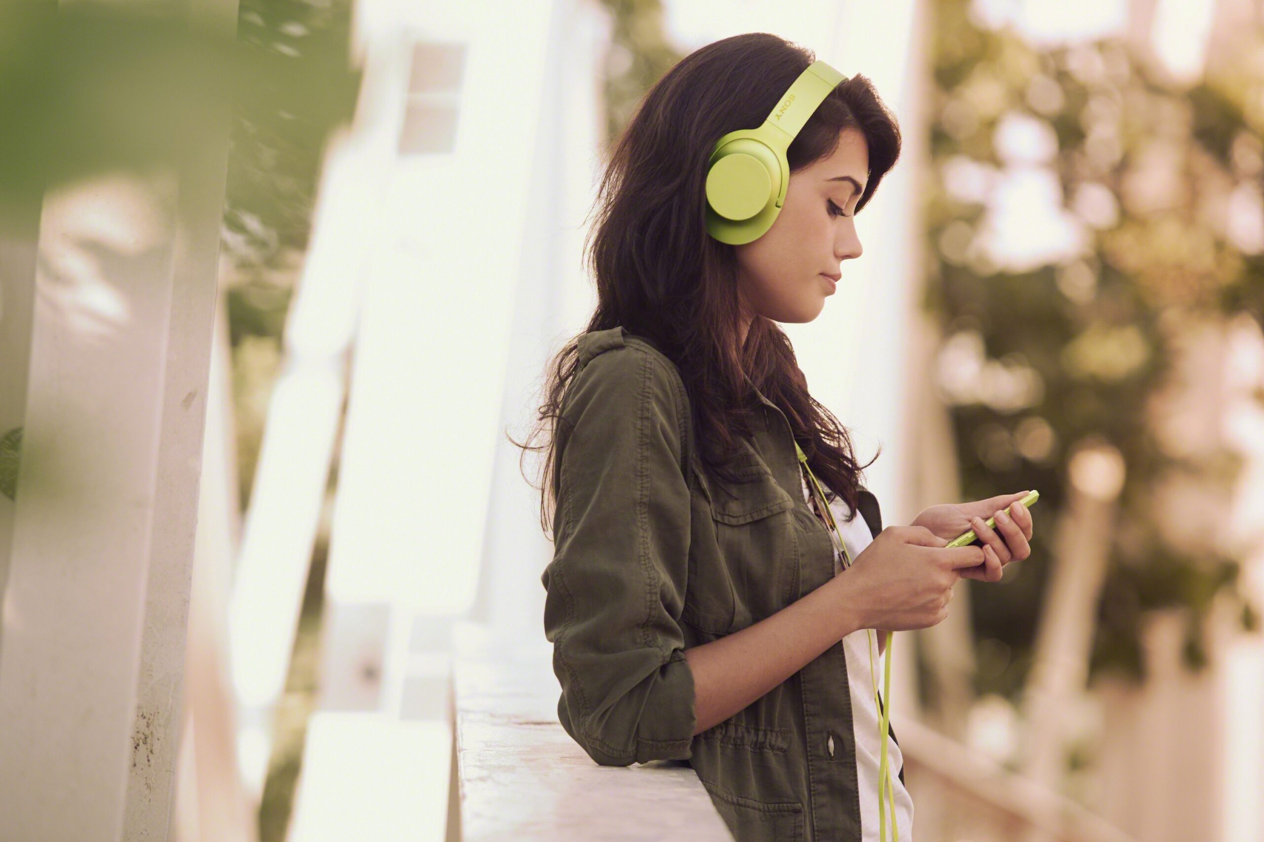 Sony Hoofdtelefoons