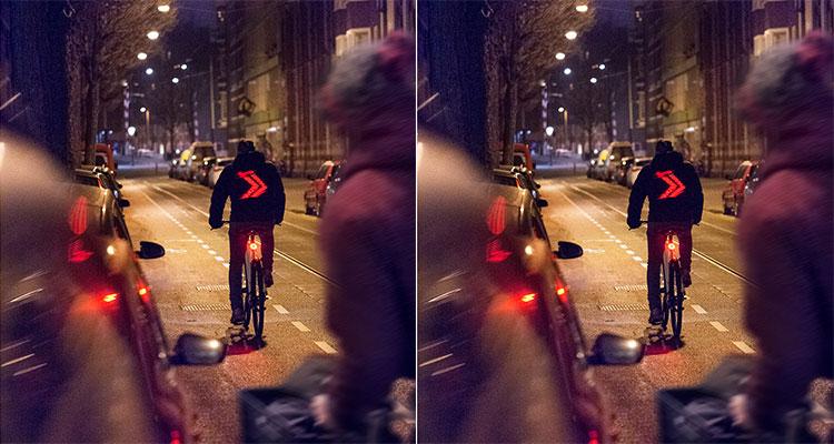 appen tijdens het fietsen