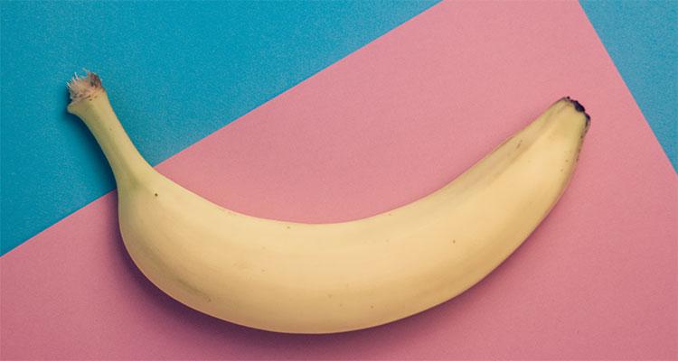 muziek maken met bananen