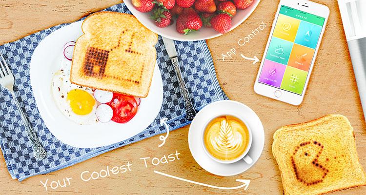 spelen met eten toasteroid