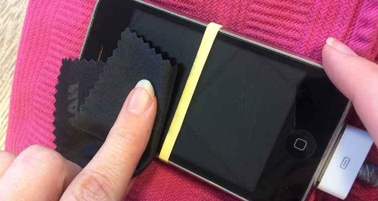 bescherm je touchscreen