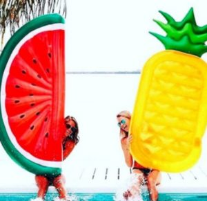 ananas luchtbed