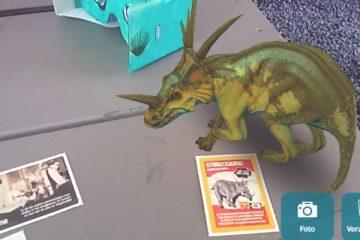 Dinoland 3D-app zorgt voor levensechte dinosaurussen