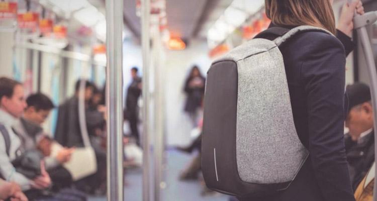 Bobby Tech Anti-Diefstal Rugzak in metro