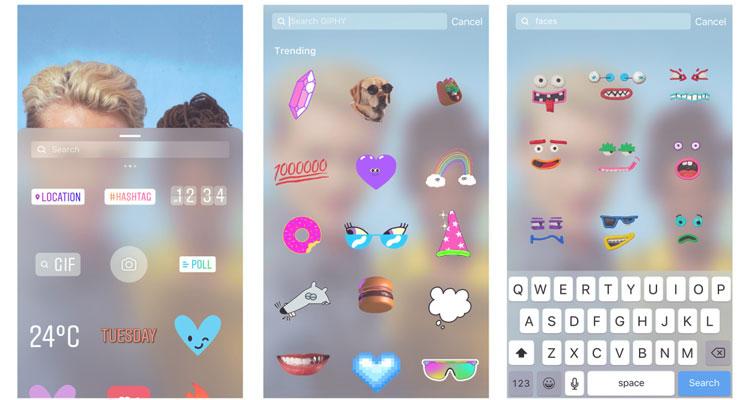 Instagram Stories VS Giphy - TechGirl