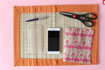 smartphone hoesje maken