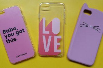 roze iPhone hoesjes
