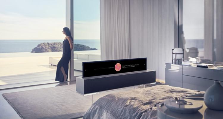 LG OLED TV Oprolbaar