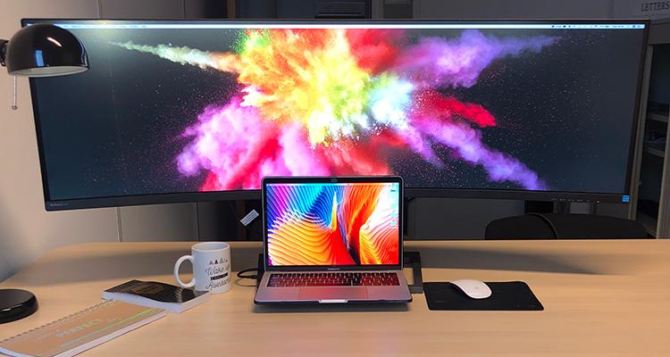Philips enorm scherm