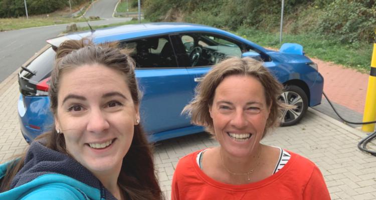 Electrische auto Marianne Anke