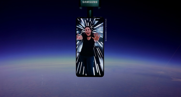 ruimte selfie