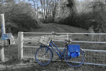 fiets gefotografeerd met Motorola One Zoom
