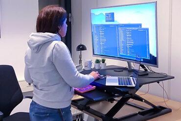 WorkFit-TX Standing Desk Converter