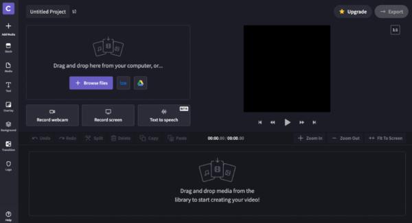 ClipChamp - online video bewerken