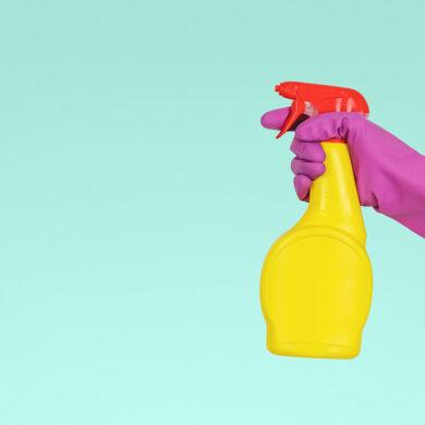 Schoonmaak spray