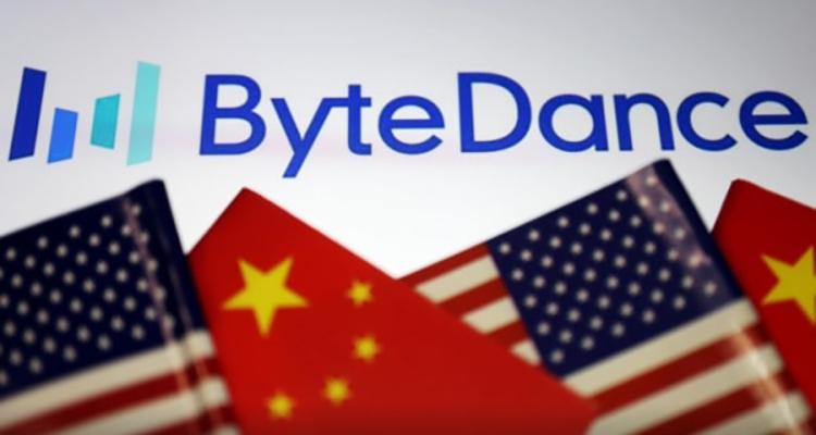 ByteDance logo met vlaggen