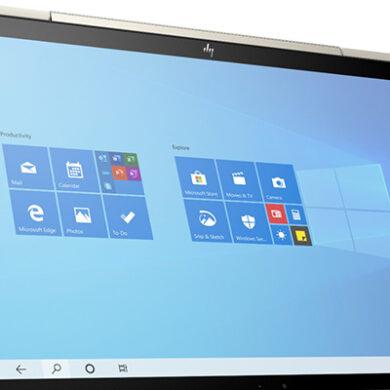HP Envy x360 2-1 laptop