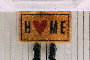 """""""Home"""" deurmat"""
