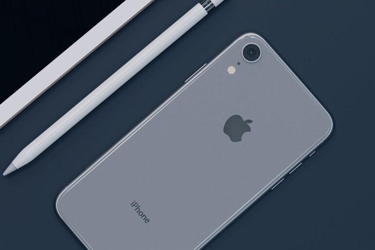 Flatlay iPhone Xr