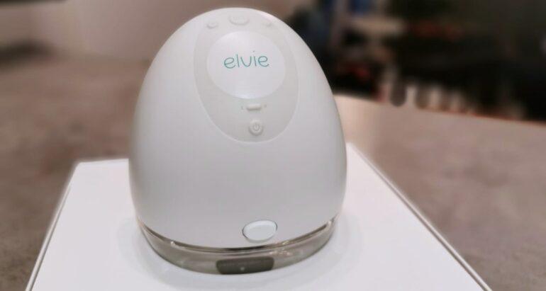 Review van de Elvie Pump: een stille, slimme en draagbare borstkolf
