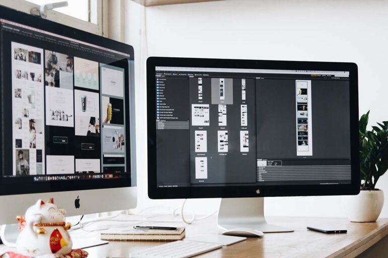 Werken met twee schermen