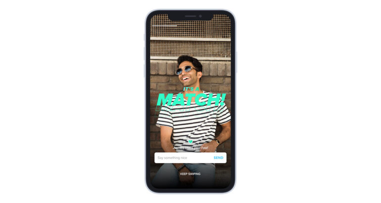 Tinder screenshot match