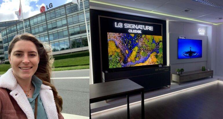 Bezoek hoofdkantoor LG